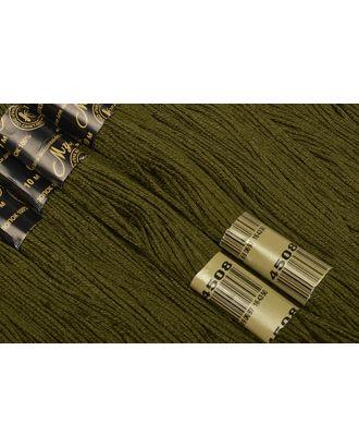 Нитки мулине цв.4508 т.зеленый 12х10м С-Пб арт. МГ-16850-1-МГ0164162