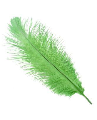 Перо страуса 30-35 см цв.зеленый арт. МГ-78060-1-МГ0164393