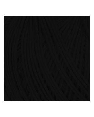 """Нитки для вязания """"Фиалка"""" (100%хлопок) 6х75гр/225м цв.4305 черный , С-Пб арт. МГ-16907-1-МГ0164570"""