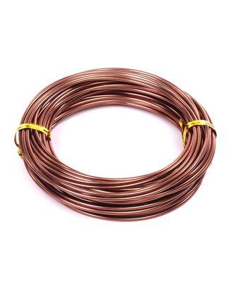 Проволока Ø 2мм цв.18 коричневый рул.10м арт. МГ-16912-1-МГ0164592