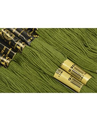 Нитки мулине цв.9300 т.зеленый 12х10м С-Пб арт. МГ-16948-1-МГ0164761