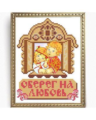 Рисунок на ткани СЛАВЯНОЧКА Оберег на любовь А5 13х17 см арт. МГ-16953-1-МГ0164767