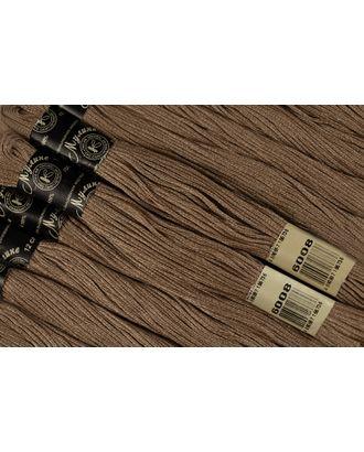 Нитки мулине цв.6008 св.коричневый 12х10м С-Пб арт. МГ-16964-1-МГ0164812