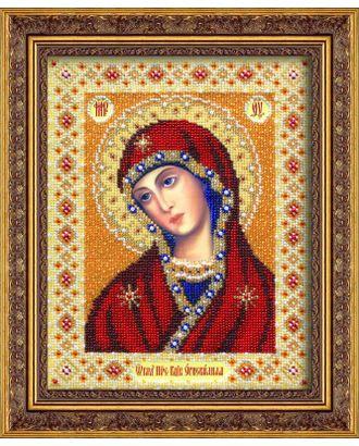 Набор для вышивания бисером ПАУТИНКА Богородица Огневидная 20х25 см арт. МГ-17016-1-МГ0164988