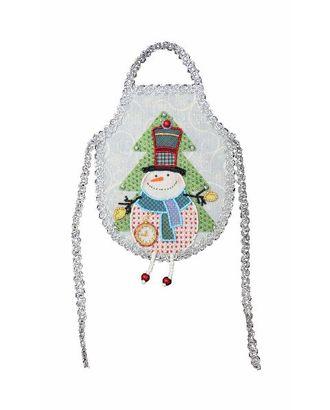 Набор для шитья и вышивания бисером ф 8225 Снеговик Снежок арт. МГ-621-1-МГ0165189
