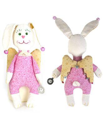 """Набор для изготовления текстильной игрушки """"Зайка-Ангел"""" 22см арт. МГ-658-1-МГ0165868"""