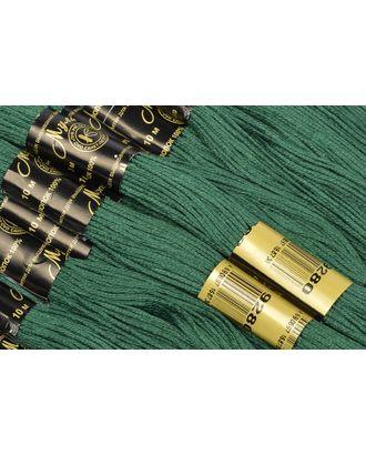 Нитки мулине цв.9280 зеленый 12х10м С-Пб арт. МГ-17263-1-МГ0165905