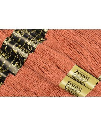 Нитки мулине цв.9206 кирпичный 12х10м С-Пб арт. МГ-17282-1-МГ0166040