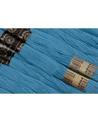 Нитки мулине цв.3204 голубой 12х10м С-Пб арт. МГ-17285-1-МГ0166180