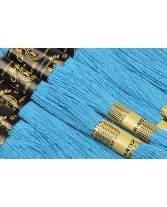 Нитки мулине цв.8402 голубой 12х10м С-Пб арт. МГ-17338-1-МГ0166584