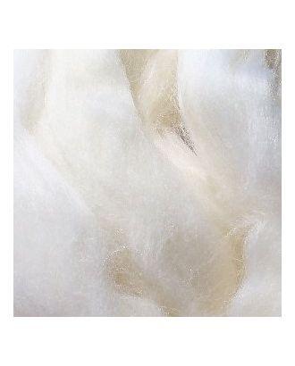 Шерсть для валяния ПЕХОРКА тонкая шерсть (100%меринос.шерсть) 50г цв.001 белый арт. МГ-17387-1-МГ0166789