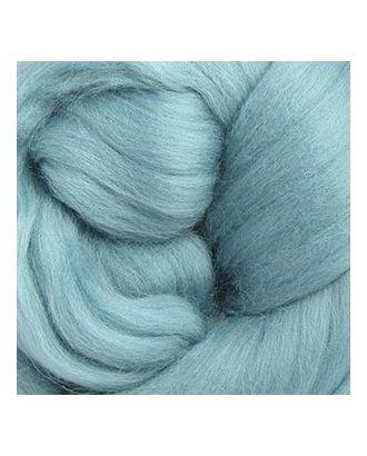 Шерсть для валяния ПЕХОРКА тонкая шерсть (100%меринос.шерсть) 50г цв.752 дымчато-бирюзовый арт. МГ-17397-1-МГ0166799