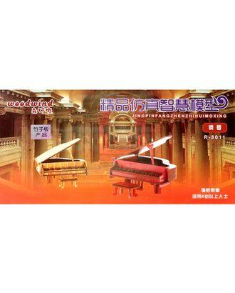 Сборная модель R-8011 дерево рояль и табурет арт. МГ-684-1-МГ0166894