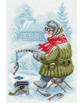 Рисунок на канве МАТРЕНИН ПОСАД - 1673 Рыбак арт. МГ-17491-1-МГ0167547