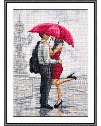 Набор для вышивания ОВЕН В объятиях дождя 20х30 см арт. МГ-17686-1-МГ0169285
