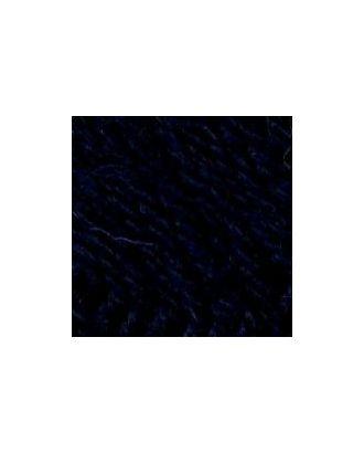"""Пряжа для вязания ТРО """"Подмосковная"""" (50% шерсть, 50% акрил) 10х100г/250м цв.0107 т.синий арт. МГ-17800-1-МГ0170422"""