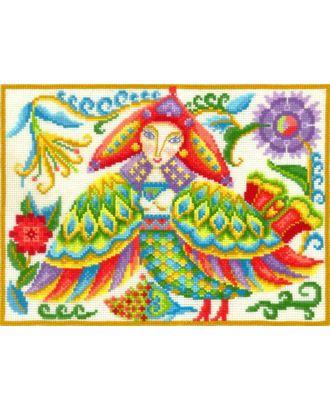 Набор для вышивания СДЕЛАЙ СВОИМИ РУКАМИ Сказания.Сирин 27х20 см арт. МГ-17884-1-МГ0170871