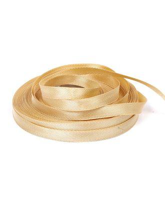 Лента для вешалок ш.0,8см цв.06 золото арт. МГ-17891-1-МГ0170943