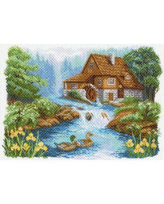 Рисунок на канве МАТРЕНИН ПОСАД - 1647 У мельницы арт. МГ-17984-1-МГ0171682