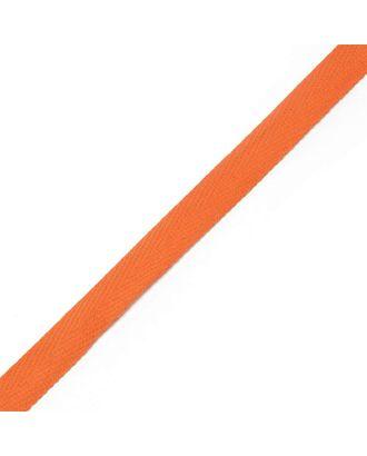Тесьма киперная ш.1,3см хлопок 1,8г/см цв.терракот арт. МГ-789-1-МГ0172801