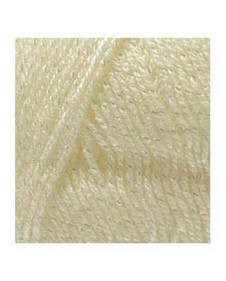 Пряжа для вязания Ализе Sal simli (95% акрил, 5% металлик) 5х100г/460м цв.062 молочный арт. МГ-18139-1-МГ0172910