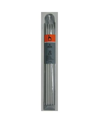 Спицы для вязания носочно-чулочных изделий PONY 40260 30см 6.00мм арт. МГ-18284-1-МГ0173581