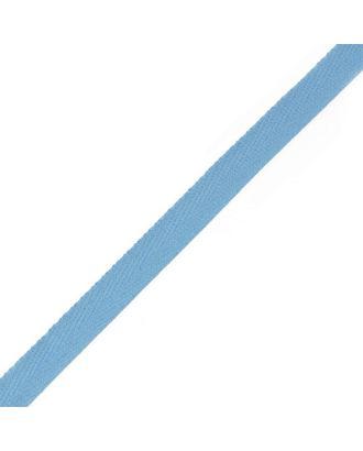 Тесьма киперная ш.1,3см хлопок 1,8г/см цв.василек арт. МГ-904-1-МГ0173707