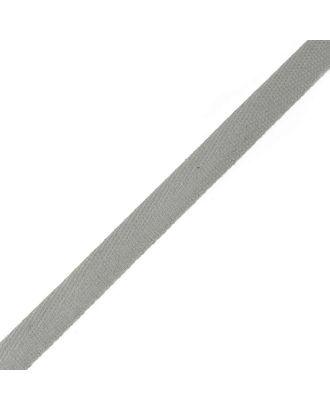 Тесьма киперная ш.1,3см хлопок 1,8г/см цв.стальной арт. МГ-909-1-МГ0173712