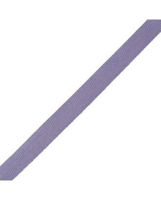 Тесьма киперная ш.1,3см хлопок 1,8г/см цв.фиолетовый арт. МГ-911-1-МГ0173727