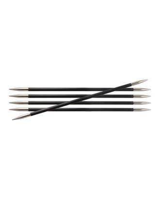 Спицы чулочные Knit Pro 41125 Karbonz 2,25мм/20см, карбон, черный, 5шт арт. МГ-18370-1-МГ0174041