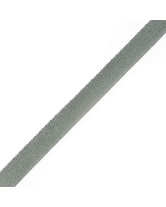 Тесьма киперная ш.1,3см хлопок 1,8г/см цв.серый арт. МГ-984-1-МГ0174313