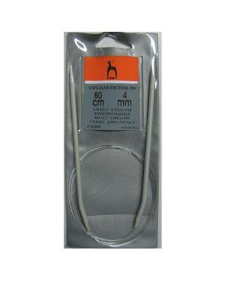 50209 (50609) PONY Спицы круговые 4,00 мм/ 80 см, алюминий арт. МГ-18440-1-МГ0174463