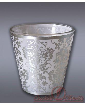 Свеча в стекле ароматизированная узорная Хамелеон М арт. МГ-78170-1-МГ0174762