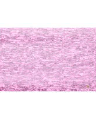 Бумага гофрированная Италия 50см х 2,5м 140г/м² цв.954 розовая арт. МГ-18514-1-МГ0175050