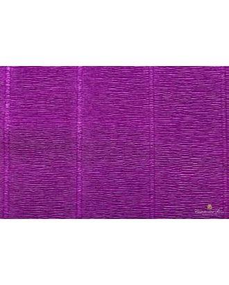 Бумага гофрированная Италия 50см х 2,5м 140г/м² цв.993 фиолетовый арт. МГ-18520-1-МГ0175056