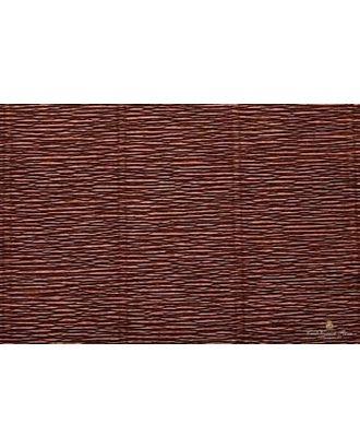 Бумага гофрированная Италия 50см х 2,5м 180г/м² цв.568 коричневый арт. МГ-18648-1-МГ0175980