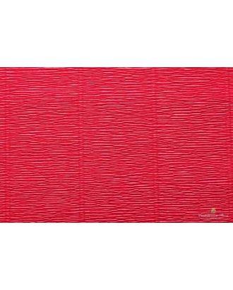 Бумага гофрированная Италия 50см х 2,5м 140г/м² цв.982 алый арт. МГ-18742-1-МГ0176607