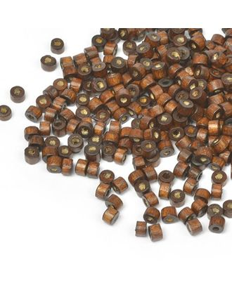 Бусины деревянные MAGIC HOBBY 474 цв.1 т.коричневый уп.40г 4мм, in Ø2 мм 1490±3 шт. арт. МГ-93246-1-МГ0176625