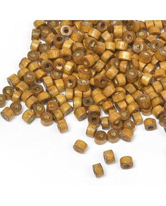 Бусины деревянные MAGIC HOBBY 474 цв.2 св.коричневый уп.40г 4мм, in Ø2 мм 1490±3 шт. арт. МГ-94010-1-МГ0176626