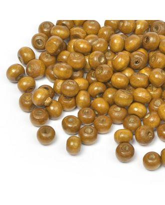 Бусины деревянные MAGIC HOBBY 477 цв.2 св.коричневый уп.40г 8мм, in Ø2 мм 400±3 шт арт. МГ-91257-1-МГ0176632