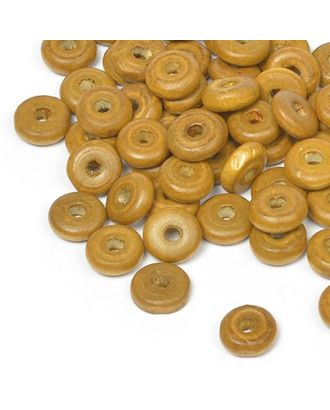 Бусины деревянные MAGIC HOBBY 482 цв.2 св.коричневый уп.40г 4х10мм, in Ø2 мм 210±3 шт арт. МГ-93971-1-МГ0176670