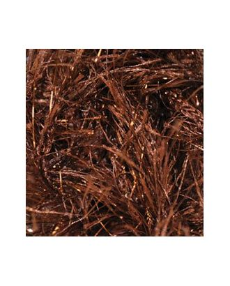 Пряжа для вязания Ализе Decofur Sim (20% металлик, 80% полиэстер) 5х100г/100м цв.26-01 коричневый арт. МГ-18787-1-МГ0176891