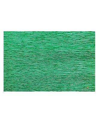 Бумага гофрированная Италия 50см х 2,5м 180г/м² цв.804 зеленая арт. МГ-18805-1-МГ0177033