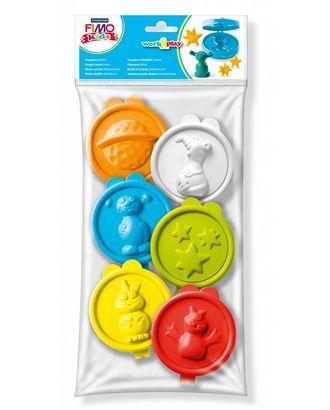 """FIMO kids work&play 3D формочки """"Инопланетянин"""", 6 форм 01 арт. МГ-18839-1-МГ0177356"""