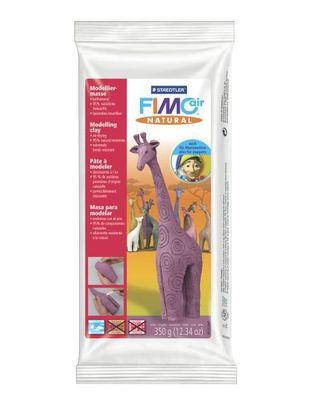 FIMOair natural самоотвердевающая натуральная глина, на водной основе, 350 г, цв.эрика, арт. МГ-18964-1-МГ0178887