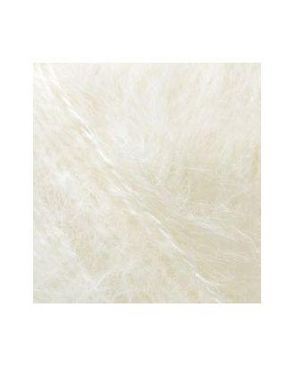 Пряжа для вязания Ализе Mohair classic NEW (25% мохер, 24% шерсть, 51% акрил) 5х100г/200м цв.001 кремовый арт. МГ-19109-1-МГ0179270