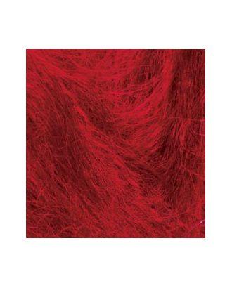 Пряжа для вязания Ализе Mohair classic NEW (25% мохер, 24% шерсть, 51% акрил) 5х100г/200м цв.056 красный арт. МГ-19117-1-МГ0179284