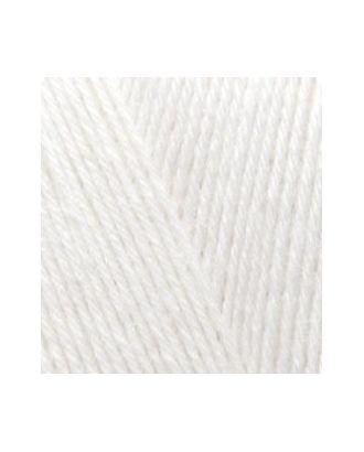 Пряжа для вязания Ализе Superwash 100 (75% шерсть, 25% полиамид) 5х100г/420м цв.0055 белый арт. МГ-19135-1-МГ0179334