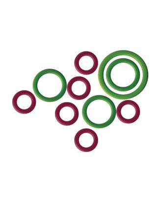 """Маркировщик для петель 10801 Knit Pro """"Кольцо"""" пластик, зеленый/красный арт. МГ-19148-1-МГ0179421"""
