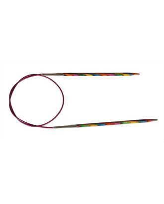 20323 Knit Pro Спицы круговые Symfonie 2,5мм/60см, дерево, многоцветный арт. МГ-19200-1-МГ0179489